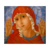 The Mother of God: 'The Tenderness of Cruel Hearts', C. 1912 Giclee Print by Kosjma Ssergej Petroff-Wodkin