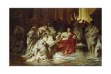The Assassination of Julius Caesar Giclee Print by Karl Theodor von Piloty