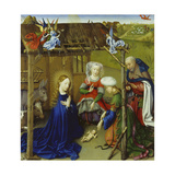 Nativity Giclee Print by Jacques Daret