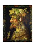 Autumn Prints by Giuseppe Arcimboldo