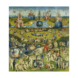 The Garden of Earthly Delights, Central Panel of a Triptych Giclee Print by Hieronymus Bosch