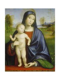 Madonna with Child, 1517 Giclee Print by Francesco Francia