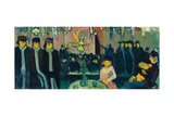 The Tabarin or Cabaret in Paris, 1888-89 Giclee Print by Emile Bernard