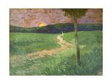 Soirée d'été Impression giclée par Koloman Moser