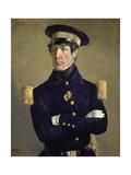 Portrait of a Navy Officer, 1845 Poster by Jean-François Millet