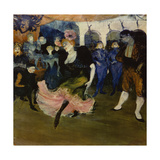 Marcelle Lender Dancing the Bolero in 'Chilperic', 1896 Giclee Print by Henri de Toulouse-Lautrec