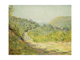 At Les Petites Dalles, 1884 Giclee Print by Claude Monet