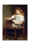 A Leisure Hour, 1881 Giclee Print by John George Brown