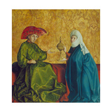 The Queen of Sheba before King Solomon, C. 1435-37 Giclee Print by Konrad Witz