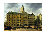 View of the Town Hall, Amsterdam Giclee Print by Gerrit Adriaensz Berckheyde