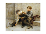 Playing with Fire Giclee Print by Karl Witkowski