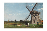 The Mill, Ca. 1873 Giclee Print by Jan Hendrik Weissenbruch