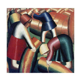 Taking in the Rye, 1911-12 Giclee Print by Kasimir Malevich
