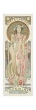 Moet and Chandon: Dry Imperial, 1899 Giclee-trykk av Alphonse Mucha