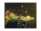 Still Life with Fruit and Rummer, 1758 Giclee Print by Justus Juncker