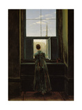 Woman at the Window, 1822 Giclee Print by Caspar David Friedrich