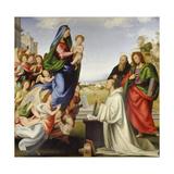 The Vision of St. Bartholomew Lámina giclée por Fra Bartolomeo