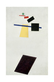 The Football Game, after 1914 Giclée-tryk af Kasimir Malevich