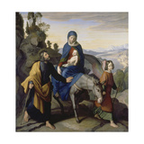 The Flight into Egypt, 1828 Giclee Print by Julius Schnorr von Carolsfeld
