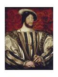 Francois I (Francois) I, King of France Giclee Print by François Clouet