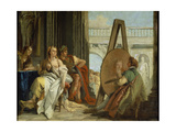 Alexander and Campaspe at the House of the Painter Apelles, 1740 Prints by Giovanni Battista Tiepolo