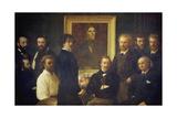 Hommage a Delacroix, 1864 Giclee Print by Henri De Fantin-latour