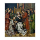 Death of the Virgin, Ca, 1501 Giclee Print by Hans Holbein the Elder