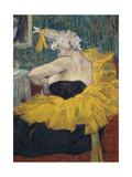 Die Clownesse Cha-U-Kao, 1895 Giclee Print by Henri de Toulouse-Lautrec