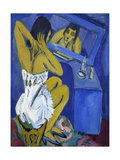The Toilette - Woman before the Mirror, 1912 Giclee Print by Ernst Ludwig Kirchner