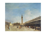 Venice, Piazza San Marco, Probably 1750s Posters by Francesco Guardi