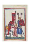 Wolfram Von Eschenbach Giclee Print by Heidelberger Lieder-Handschrift