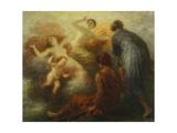 The Judgement of Paris Giclee Print by Henri De Fantin-latour