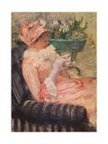 The Cup of Tea, Ca, 1880-81 Giclée-Druck von Mary Cassatt