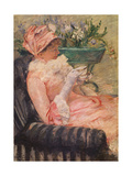 The Cup of Tea, Ca, 1880-81 Giclee Print by Mary Cassatt