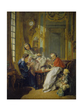 The Breakfast (Le Déjeuner), 1739 Giclee Print by François Boucher