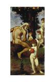 Triptych: the Hesperides, 1884-85 Giclee Print by Hans von Marées