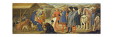 The Adoration of the Kings (Centre Predella), 1426 Giclee Print by  Masaccio