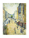 A Street in Abbesses, Ca. 1895 Prints by Maximilien Luce