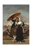 The Stroll 1808-1812 Giclee Print by Francisco de Goya