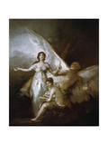 Truth, Time and History, 1797-1800 Giclee Print by Francisco de Goya