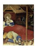 Nativity, High Altar in the Church of Bad Wildungen Giclee Print by  Konrad von Soest