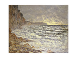 Seafront, Fécamp, 1881 Giclee Print by Claude Monet