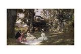 Picnic under the Trees, 1896 Impression giclée par Julius Leblanc Stewart