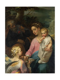 Rest on the Flight to Egypt Giclée-Druck von Francesco Vanni
