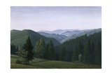 Vast Forest Landscape, 1937 Giclee Print by Georg Schrimpf