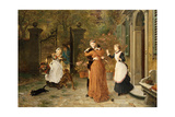 The Reunion, 1884 Giclee Print by Ludwig Knaus