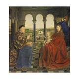 The Rolin Madonna (La Vierge Au Chancelier Rolin), C. 1435 Giclee Print by  Jan van Eyck