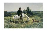 The Farmer Giclee Print by Frank Buchser