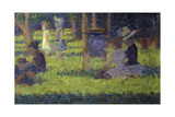 Study for 'A Sunday Afternoon on the Island of La Grande Jatte': Mothers and Children, 1886 Giclee Print by Georges Seurat