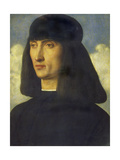 Portrait of a Man, C. 1490 Giclee Print by Giovanni Bellini